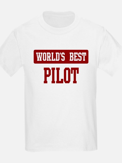 Worlds best Pilot T-Shirt