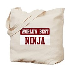 Worlds best Ninja Tote Bag