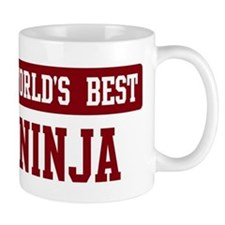 Worlds best Ninja Small Mugs