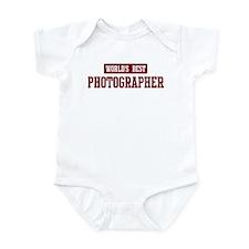 Worlds best Photographer Infant Bodysuit