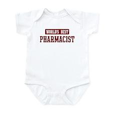 Worlds best Pharmacist Infant Bodysuit