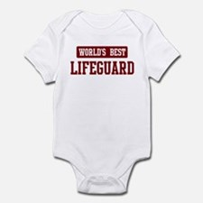 Worlds best Lifeguard Infant Bodysuit