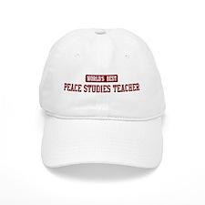 Worlds best Peace Studies Tea Baseball Cap