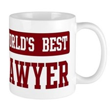 Worlds best Lawyer Mug