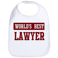 Worlds best Lawyer Bib