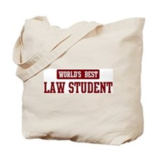 Worlds best Law Student Tote Bag