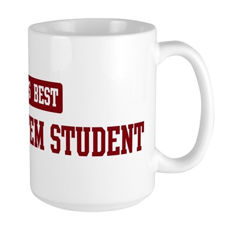 Worlds best Metric System Stu Large Mug