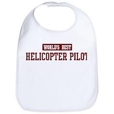 Worlds best Helicopter Pilot Bib