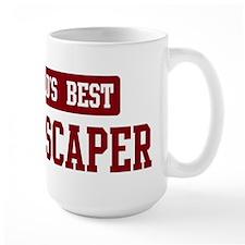 Worlds best Landscaper Mug