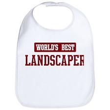 Worlds best Landscaper Bib