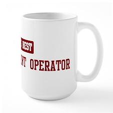 Worlds best Heavy Equipment Mug