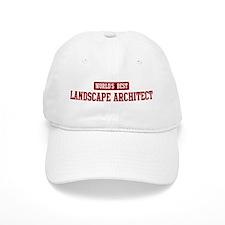 Worlds best Landscape Archite Baseball Baseball Cap