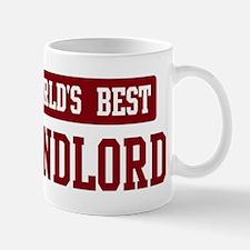 Worlds best Landlord Mug