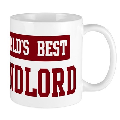 Worlds best Landlord Mug