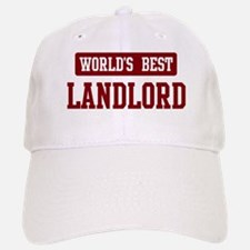 Worlds best Landlord Baseball Baseball Cap