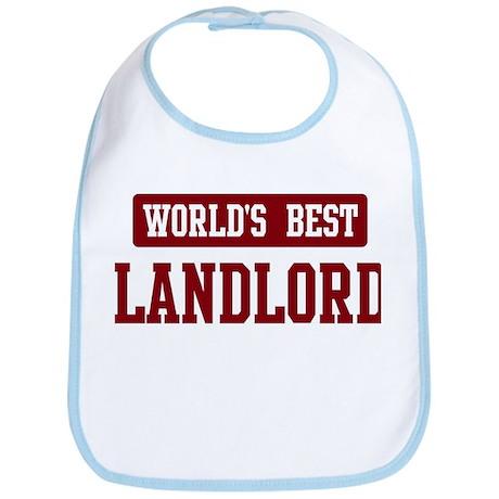 Worlds best Landlord Bib