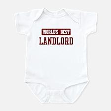 Worlds best Landlord Infant Bodysuit