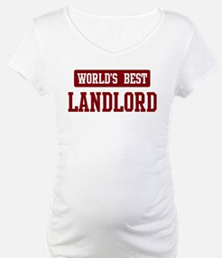 Worlds best Landlord Shirt