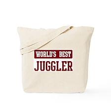 Worlds best Juggler Tote Bag