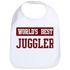Worlds best Juggler Bib