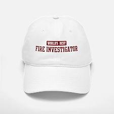 Worlds best Fire Investigator Baseball Baseball Cap
