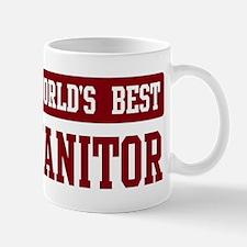 Worlds best Janitor Mug