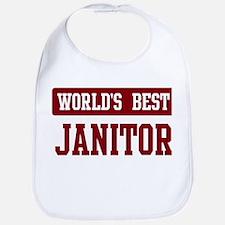 Worlds best Janitor Bib