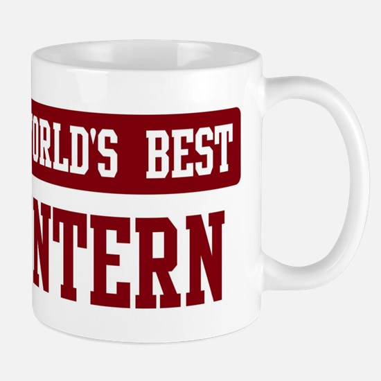Worlds best Intern Mug