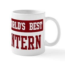 Worlds best Intern Small Mug