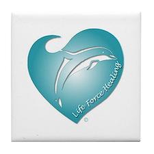 Life Force Healing Tile Coaster