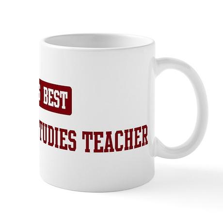 Worlds best International Stu Mug