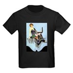 Colorful Gown Kids Dark T-Shirt