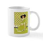 Lady in Green Mug