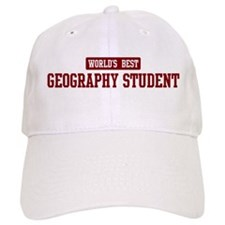Worlds best Geography Student Cap
