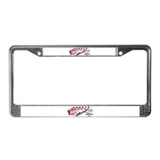 Rollercoaster Recording Studio License Plate Frame