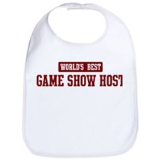 Worlds best Game Show Host Bib