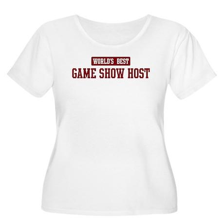 Worlds best Game Show Host Women's Plus Size Scoop