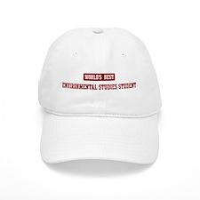 Worlds best Environmental Stu Baseball Cap