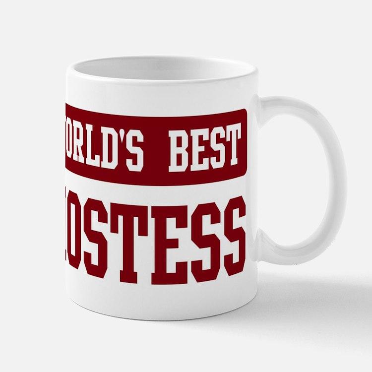 Worlds best Hostess Mug