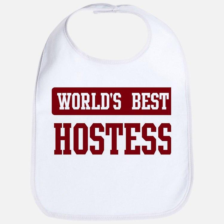 Worlds best Hostess Bib