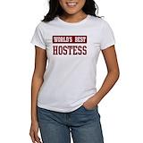 Worlds best hostess Women's T-Shirt