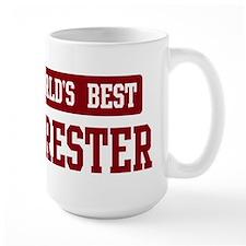 Worlds best Forester Mug