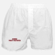 Worlds best Forest Firefighte Boxer Shorts