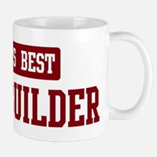 Worlds best Home Builder Small Mugs