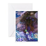 MOONDROPS COTTAGE Greeting Cards (Pk of 10)