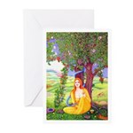 THE APPLE LADY Greeting Cards (Pk of 10)