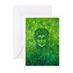GREEN JACK Greeting Cards (Pk of 10)