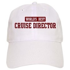 Worlds best Cruise Director Baseball Cap