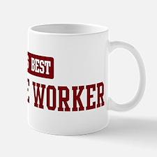 Worlds best Childcare Worker Mug