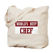 Worlds best Chef Tote Bag